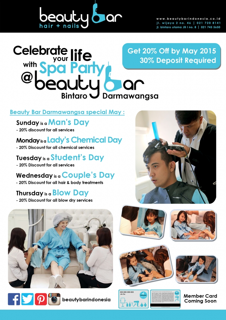 Promo Beauty Bar Special May